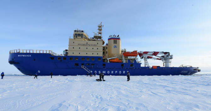 The 120 m-long icebreaker will be operated by ROSMOPORT.