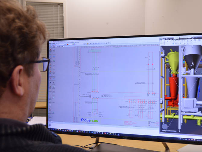 Circuit schema designer Kalevi Virtanen appreciates CADMATIC Electrical's illustrative views and ease of use.